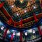 古建寺庙吊顶  彩绘新款  环保铝合金材料  防火防潮   观景酒店  装修厂家直销